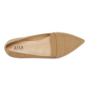 New Ana Pointed loafer 9.5